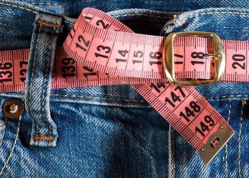Misura della cintura